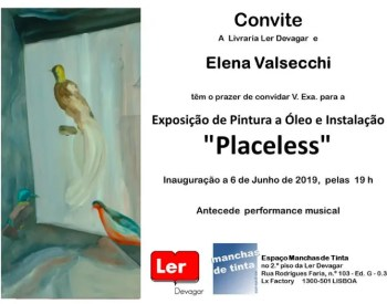 "to Jun 27 | ART EXHIBIT | ""Placeless"" by Elena Valsecchi 