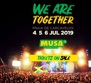to Jul 6 | REGGAE MUSIC FESTIVAL | Musa Cascais 2019 | Carcavelos | 20 - 360€ @ Praia do Carcavelos | Lisbon | Portugal
