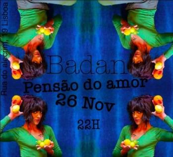 CONCERT | Badan at Pensão Amor | Cais do Sodré | FREE @ Pensão Amor | Lisboa | Lisboa | Portugal