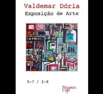 to Aug 8 | ART EXHIBIT | Valdemar Doria in Tavira | Tavira | FREE @ Pessoa's Cafe | Tavira | Faro | Portugal