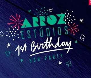 DINNER AND 2-DAY PARTY | Arroz Estúdios' 1st Birthday  | Cacilhas | FREE-22€ @ Arroz Estúdios | Lisboa | Setúbal | Portugal