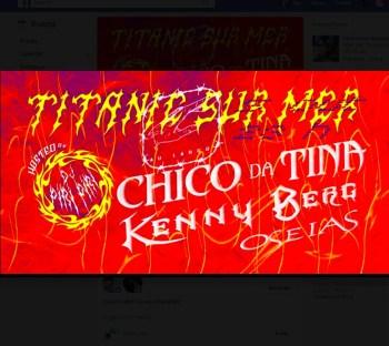 MUSIC | Chico da Tina + Kenny Berg + Oseias | Cais do Sodré | 6-8€ @ Titanic sur Mer | Lisboa | Lisboa | Portugal