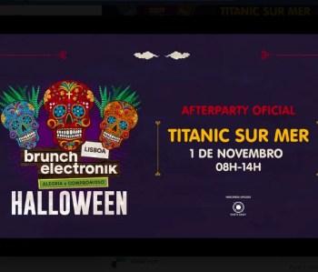 AFTERPARTY | Brunch Electronik Halloween Afterparty | Cais do Sodré | 5-12€ @ Titanic sur Mer | Lisboa | Lisboa | Portugal