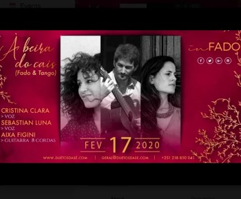 DINNER AND CONCERT | Fado meets Tango | Alfama | 5€+ @ Duetos da Sé | Lisboa | Lisboa | Portugal