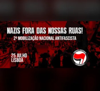 PROTEST | 2nd National Anti-Fascist Mobilization | Príncipe Real | FREE