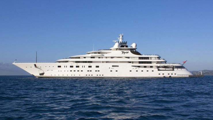 Who owns the world's most expensive yacht? 8