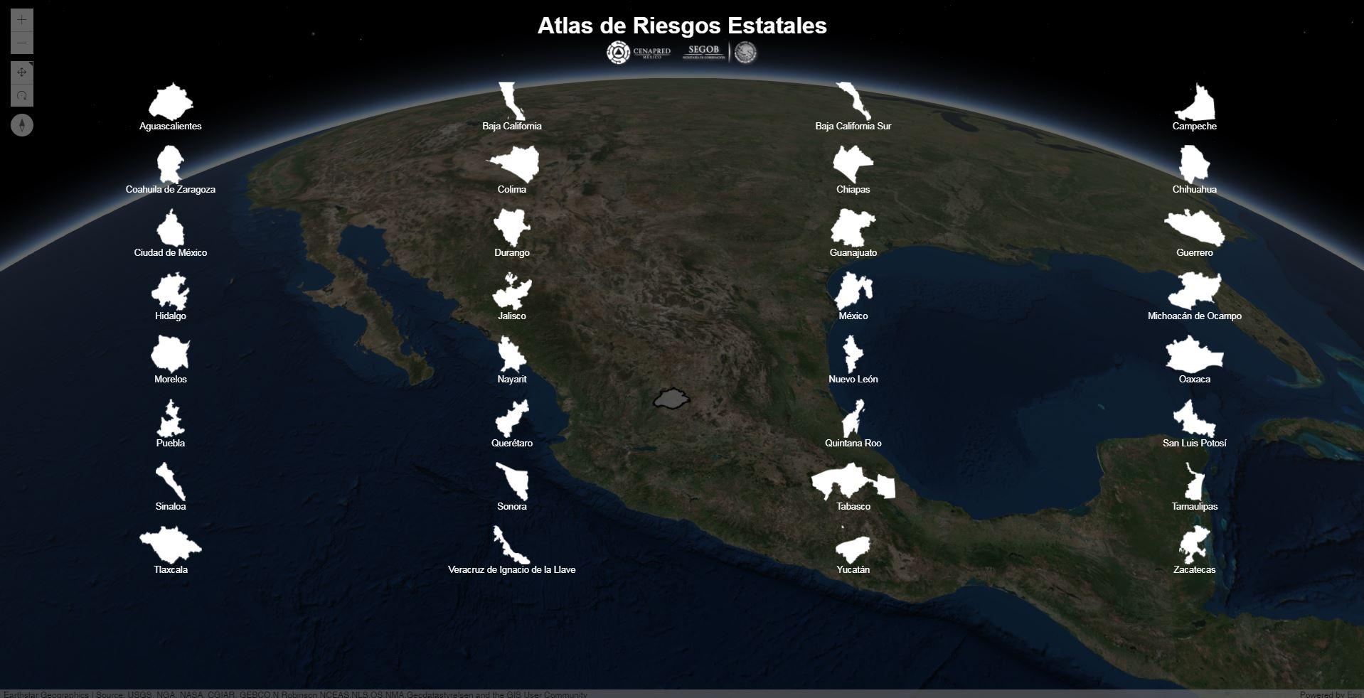Atlas méxico festival 2020 master. Atlas Nacional De Riesgos