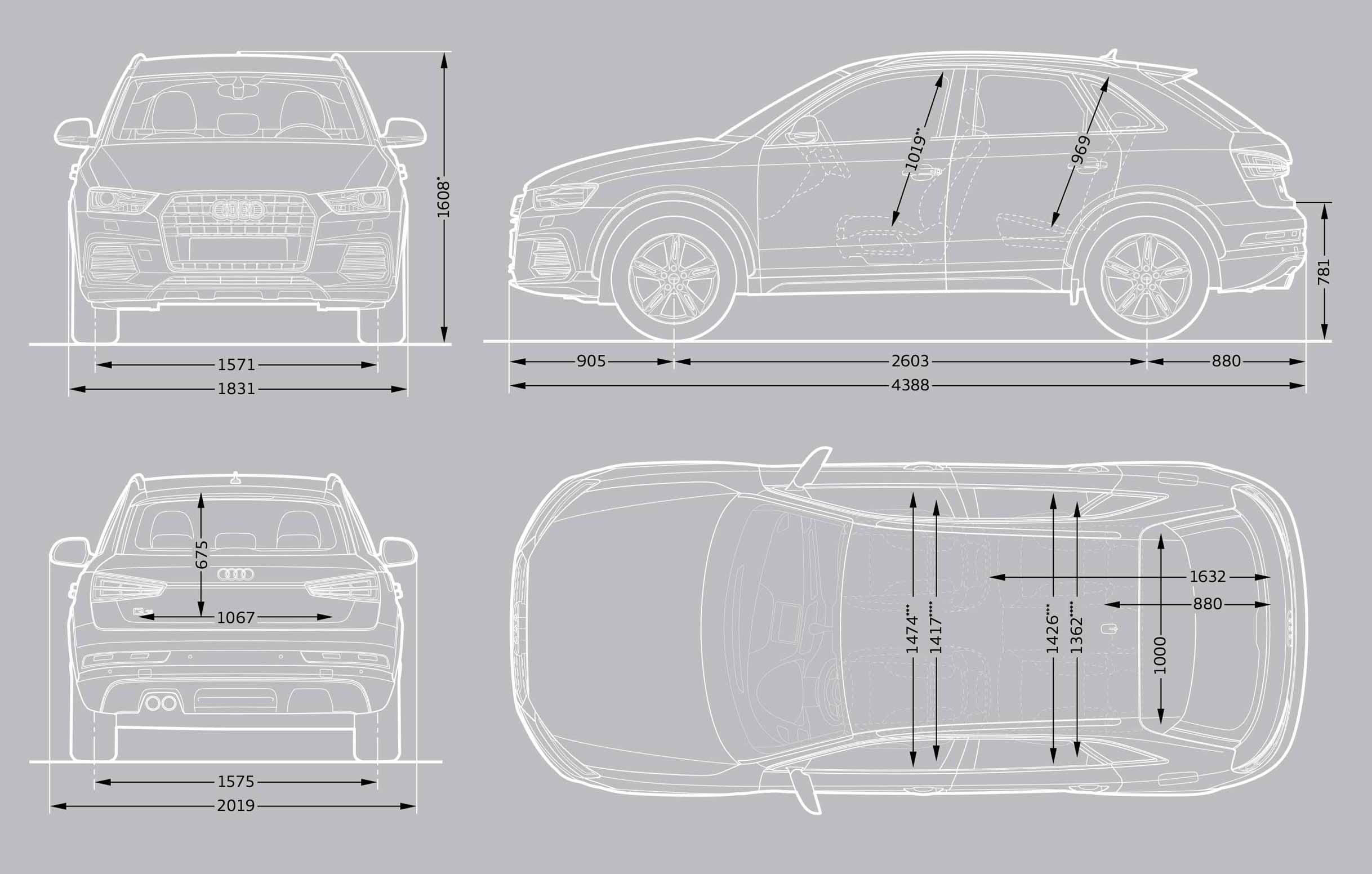 new car dimensions Carsjpcom