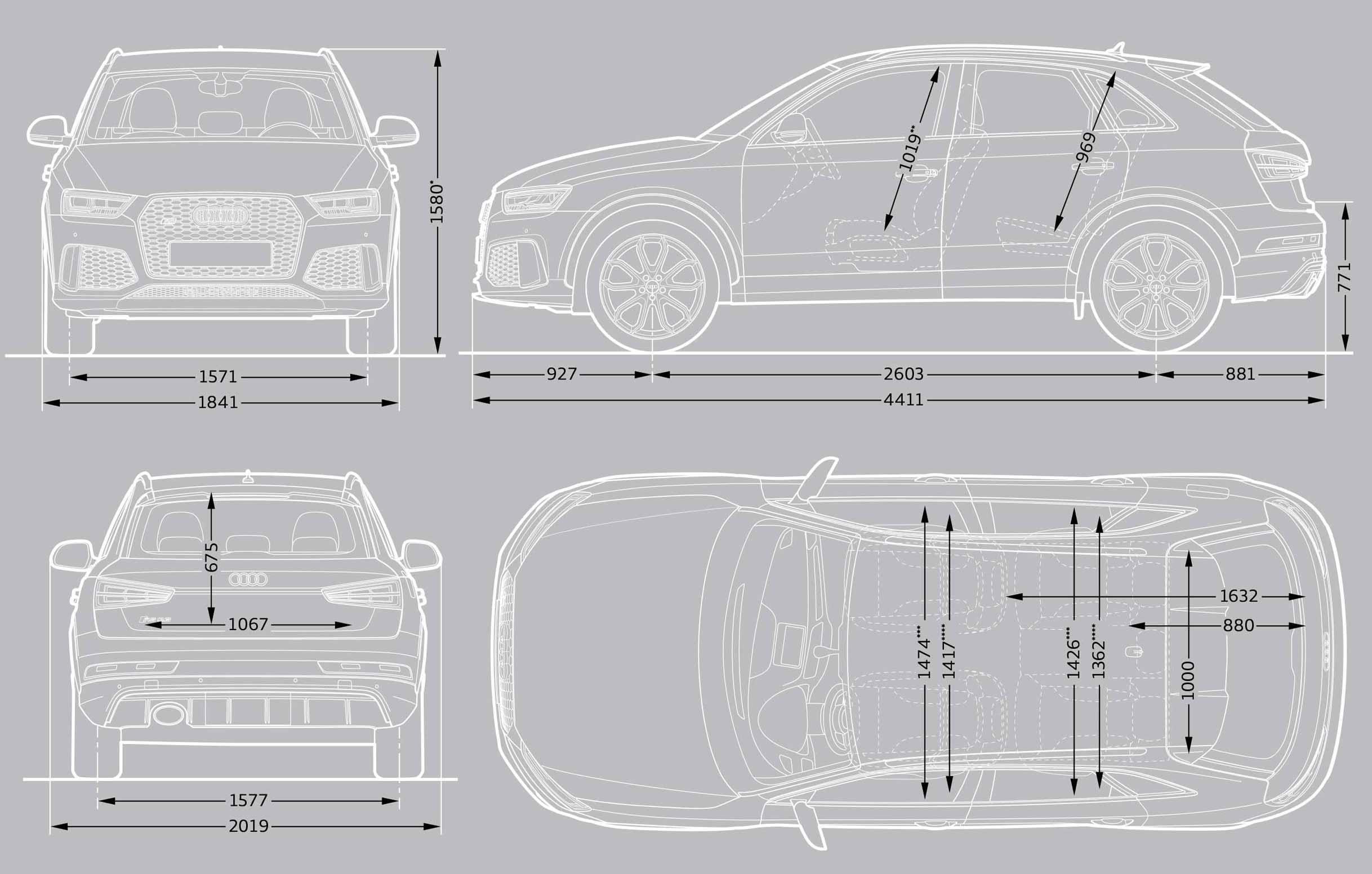 Audi Q5 Cargo Dimensions