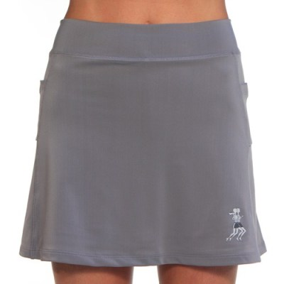 running skirt-grey