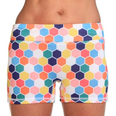 running shorts - honeycomb
