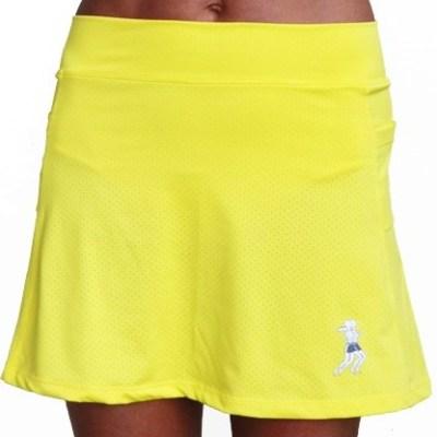 ultra swift skirt-citron-front