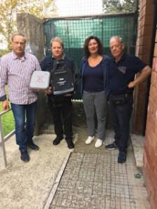 Defibrillatore per l'ASD Atletica Frascati
