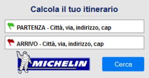 Calcola il tuo itinerario - Percorsi ViaMichelin