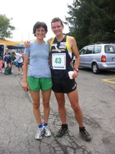 Jonathan Wyatt con Antonella Confortola