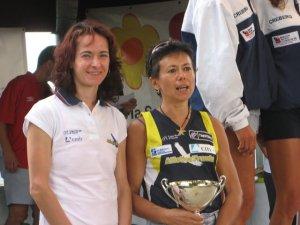Francesca Iachemet (sinistra), qui con Romana Verones