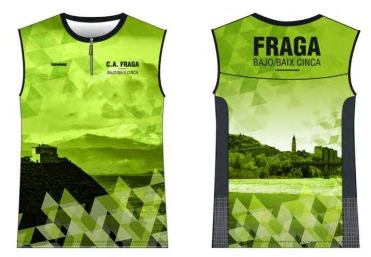a7ed5a9126277 Camiseta running sin mangas – Atletismo Fraga – Bajo Cinca