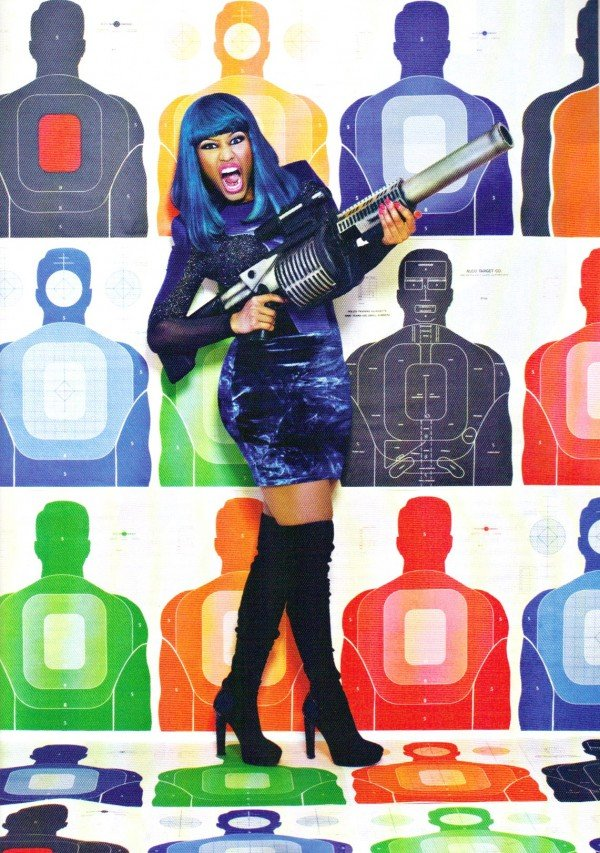 Nicki Minaj January 2011 XXL Magazine Spread