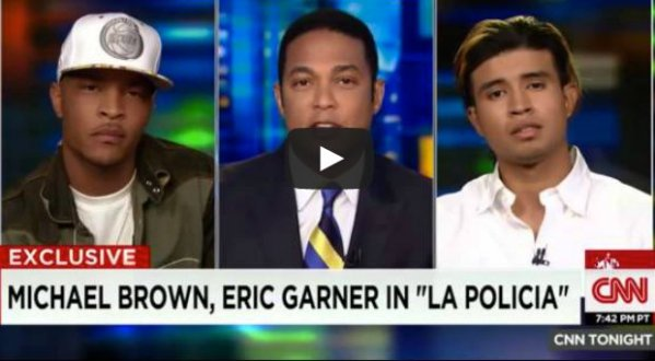 TI on CNN Discuss Racial Profiling #FukkLaPolicia (Video ...