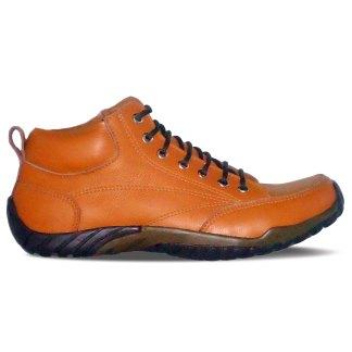 sepatu kulit pria casual C08 tan - atmal