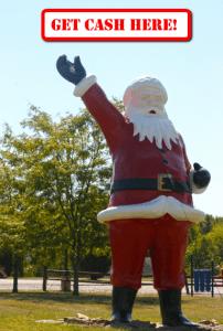 Santa Claus ATM