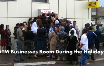 ATM Business Booms During the Holidays