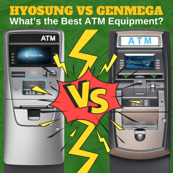 Hyosung vs Genmega ATM Equipment