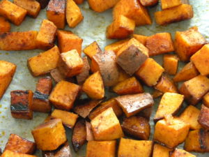 Roasted Sweet Potatos