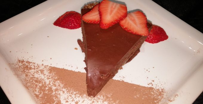 Chocolate Ganache Torte (Vegan and Gluten-Free)