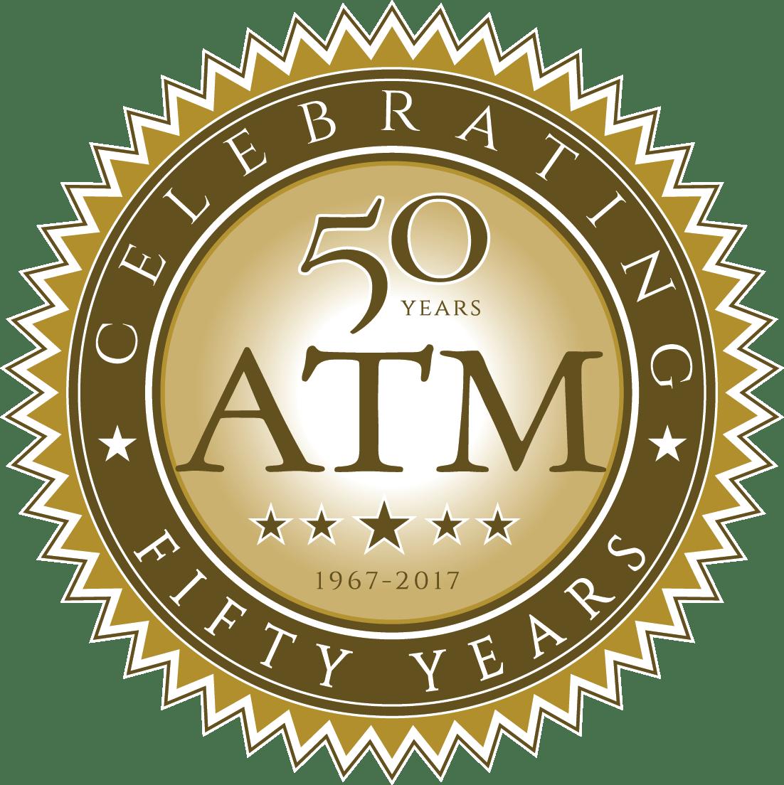 Atm 50th Anniversary