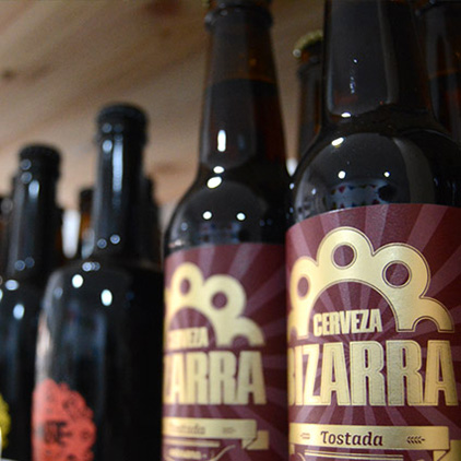 Bizarra cerveza artesana