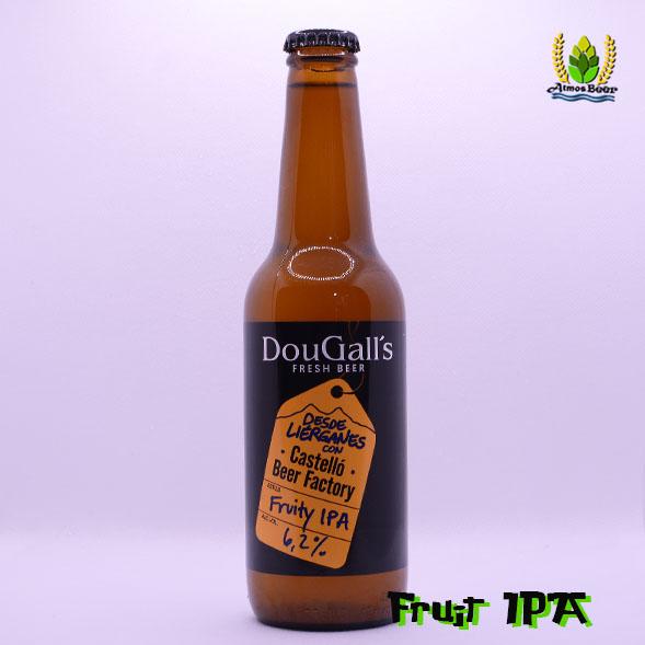 Cerveza artesana Fruit IPA Fruity IPA Dougalls Beer Factory