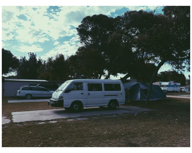 La vita da campeggio.
