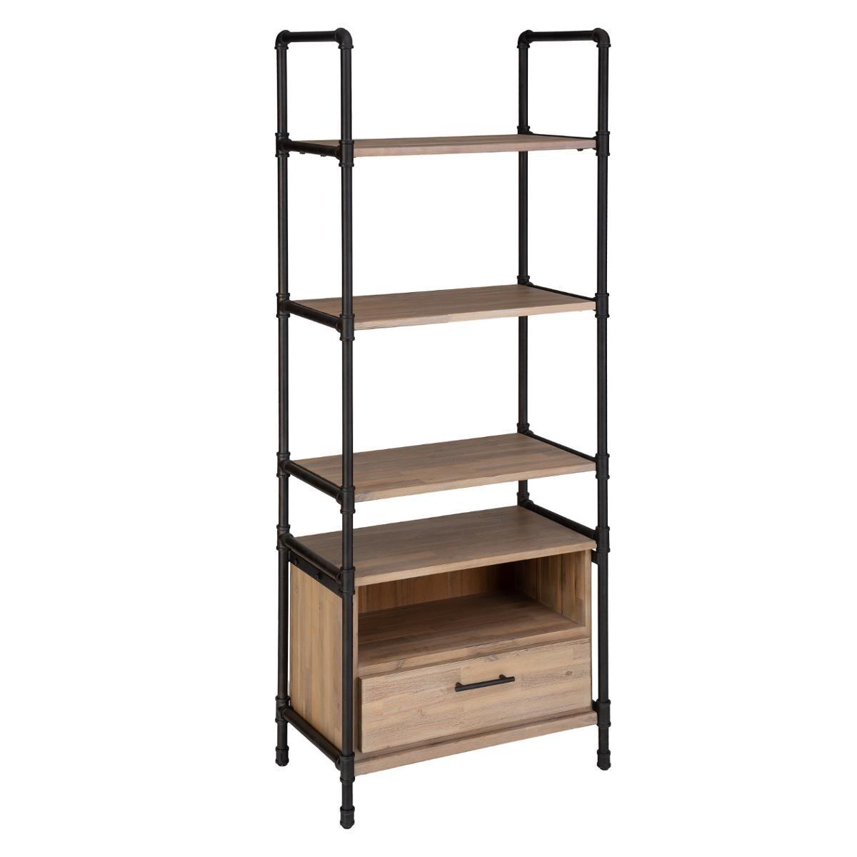 etagere siam fer bois h185 cm