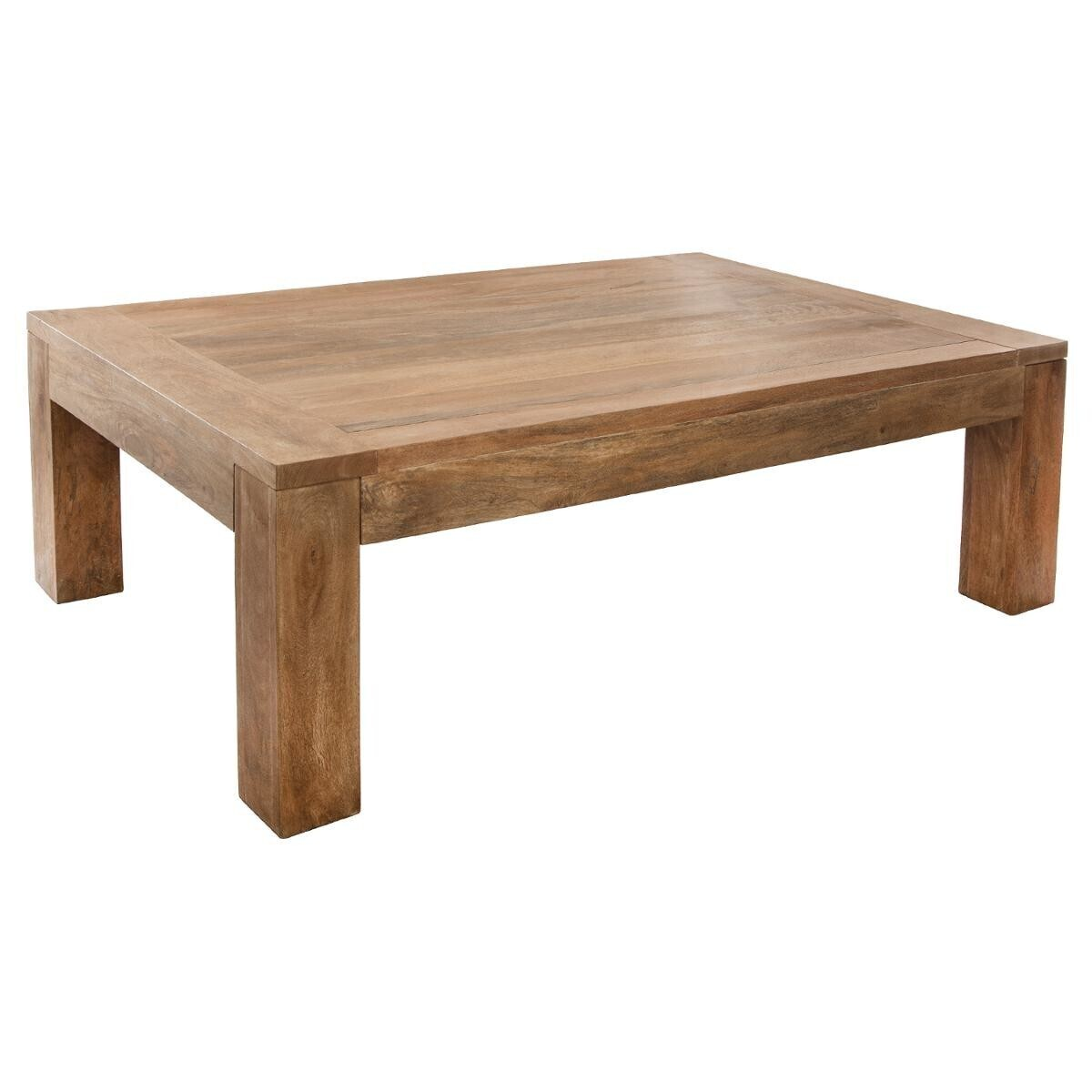 table basse ajmal bois de manguier