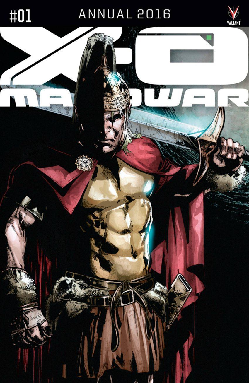 X-O Manowar Annual 2016 #1