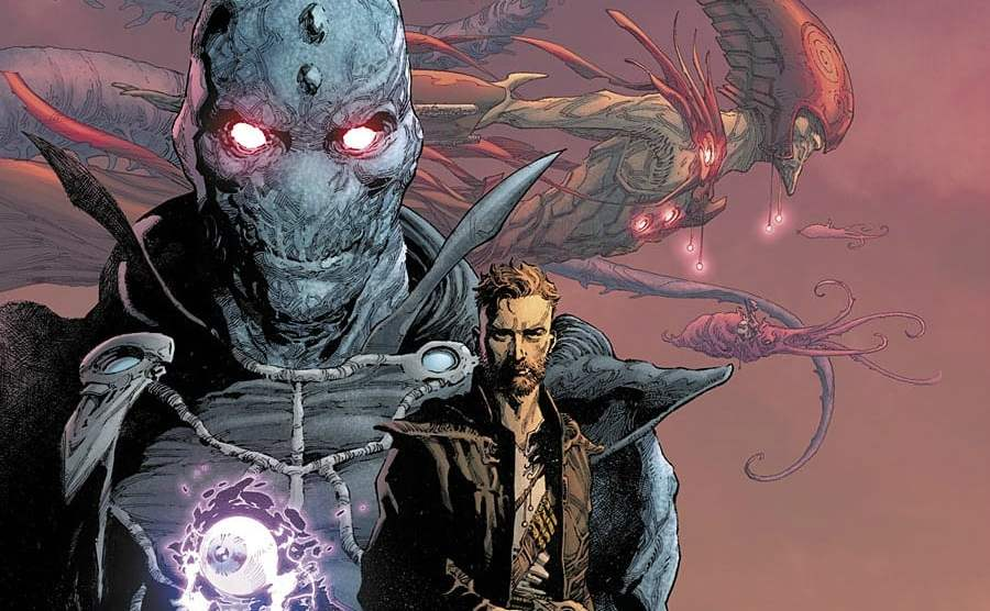 'Seven to Eternity' artwork by Jerome Opeña, copyrighted to Image Comics