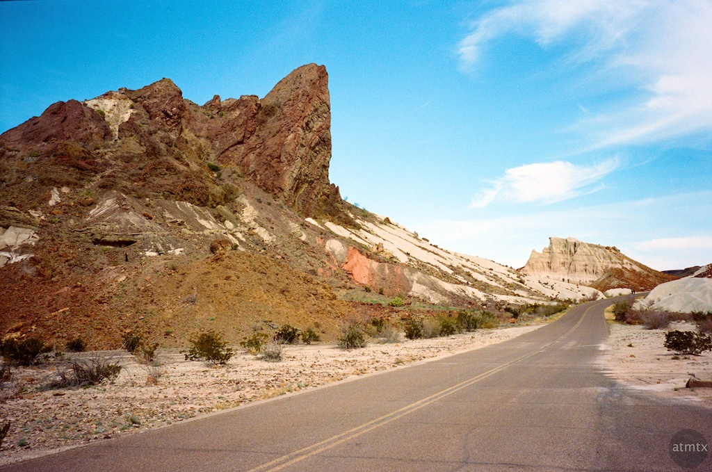 Road, Tuff Canyon #1 - Big Bend National Park, Texas