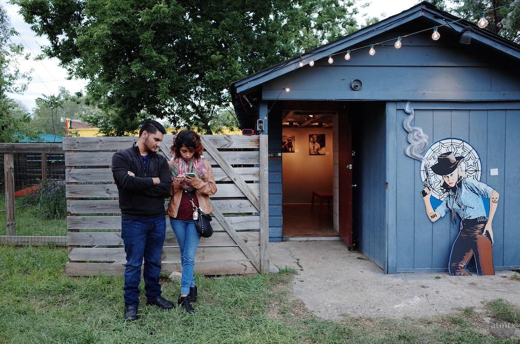 The Blue Shack, The Room Gallery - Austin, Texas