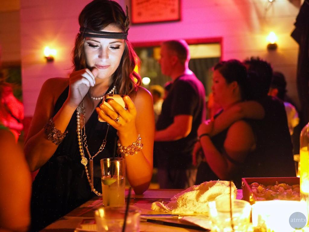 Meaghan at Javalina Bar - Austin, Texas