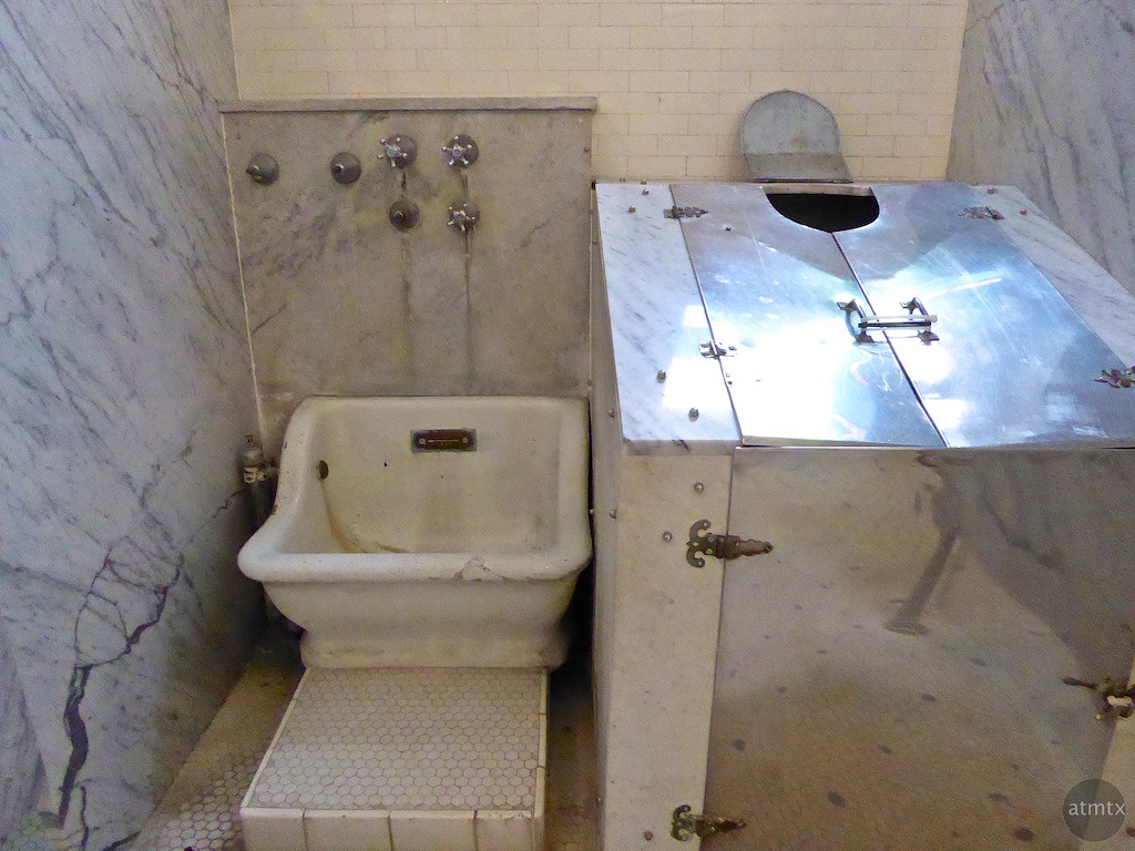 Interior Fordyce Bathhouse - Hot Springs, Arkansas