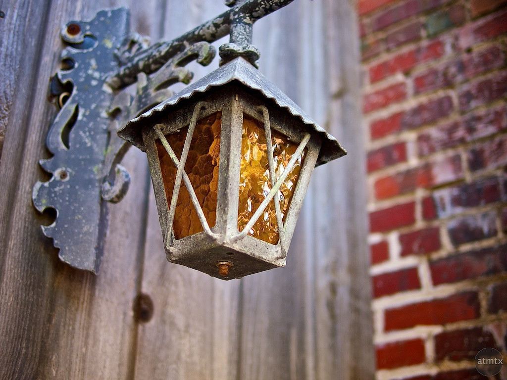 Old Lamp with Character - Smithville, Texas