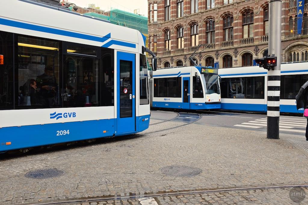 The Trams of Amsterdam #7 - Amsterdam, Netherlands