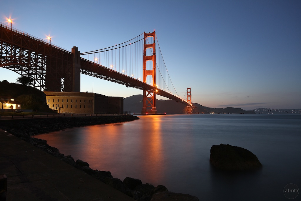 Golden Gate Bridge Long Exposure