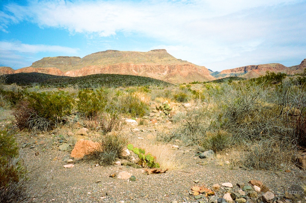 A view from Closed Canyon - Big Bend Ranch State Park, Texas