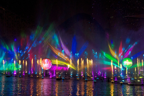 World of Color Show, Disney's California Adventure