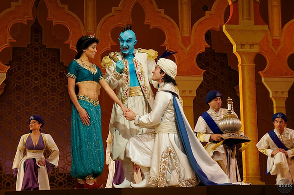 Proposing to Princess Jasmine