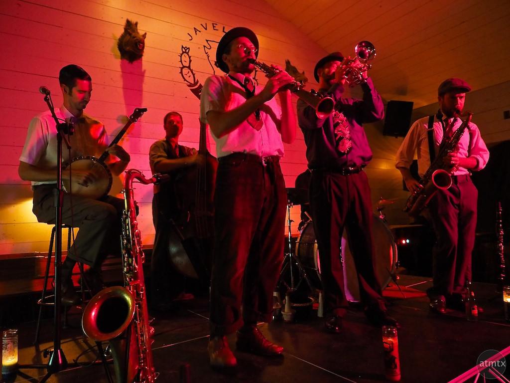 East Side Dandies Performs at the Javalina Bar - Austin, Texas