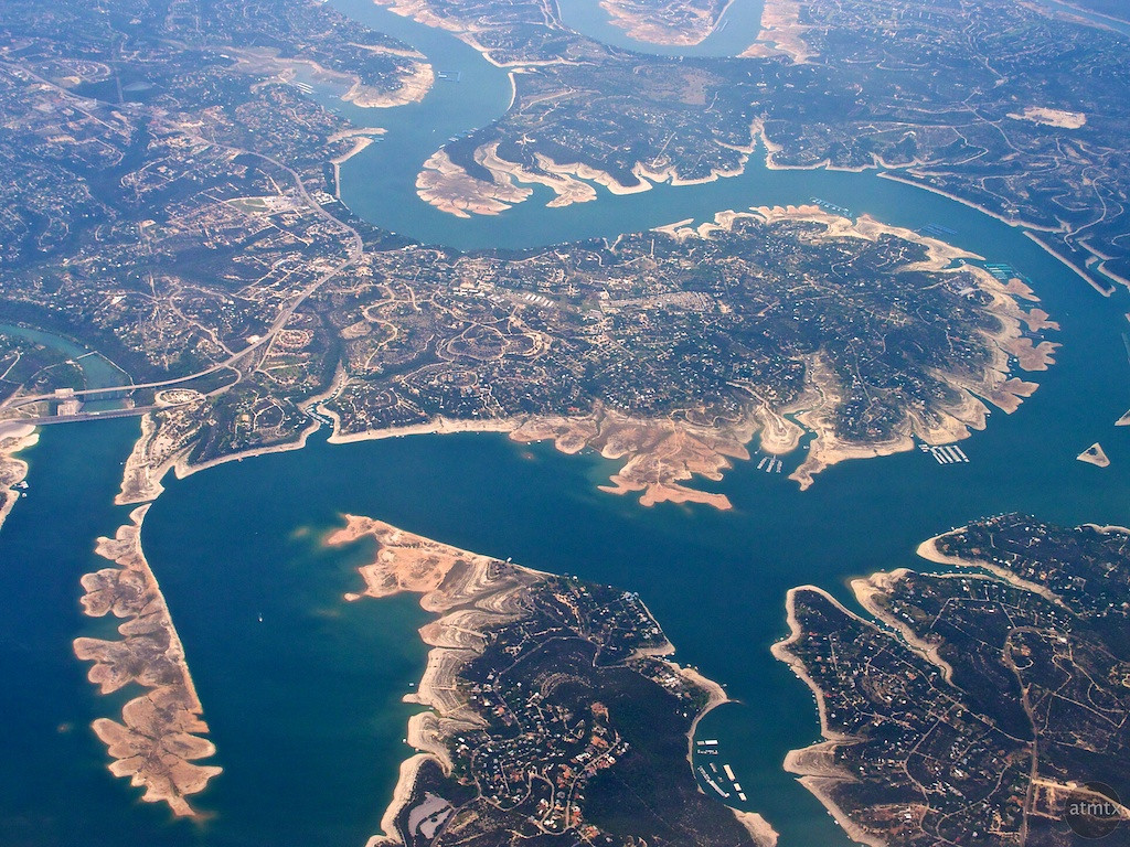 Low Water, Lake Travis - Austin, Texas