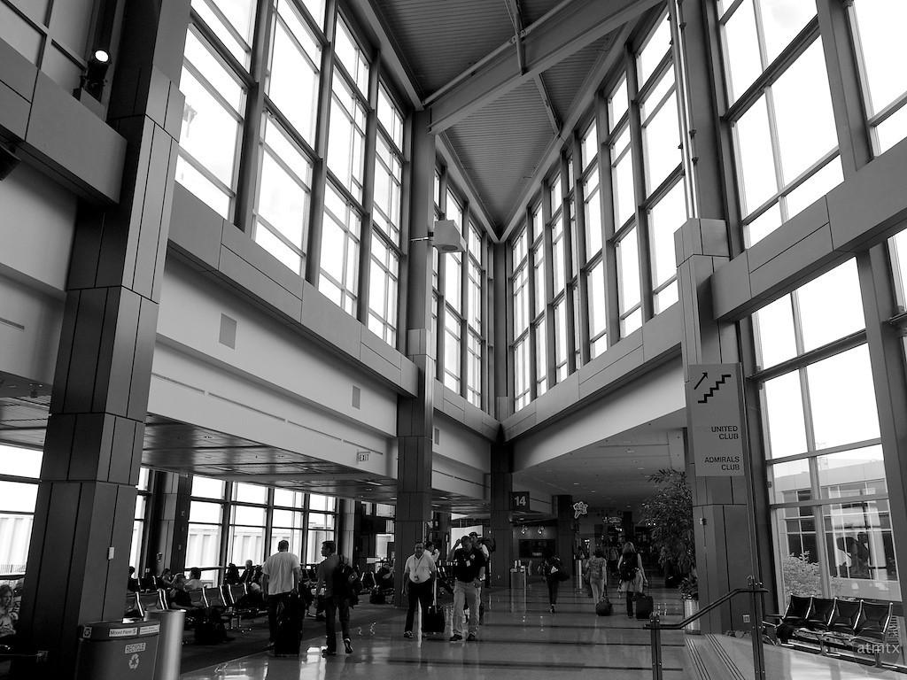 Acute Angle, Austin-Bergstrom Airport - Austin, Texas